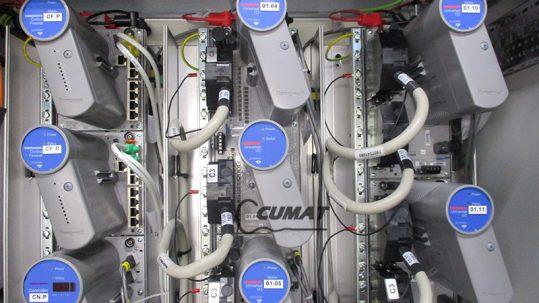 conexionado de un armario eléctrico