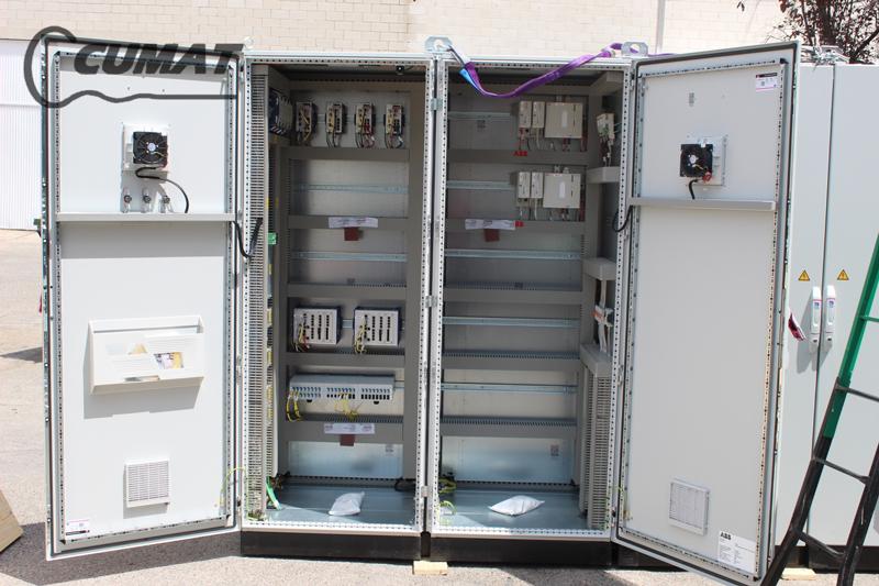 armarios eléctricos de control para una petrolera en Omán