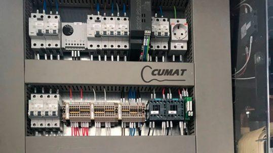qué cuadros eléctricos fabricamos en Cumat