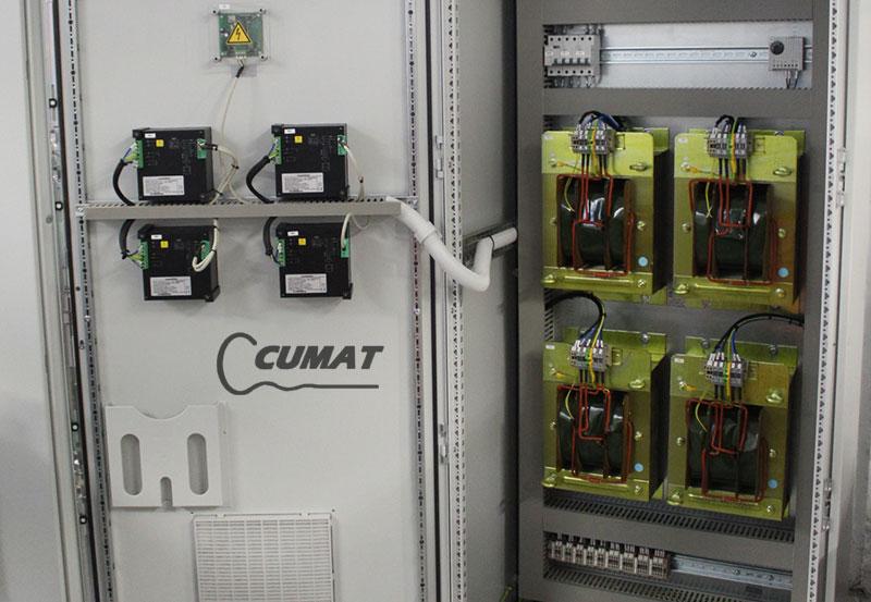 taller de fabricación de cuadros eléctricos