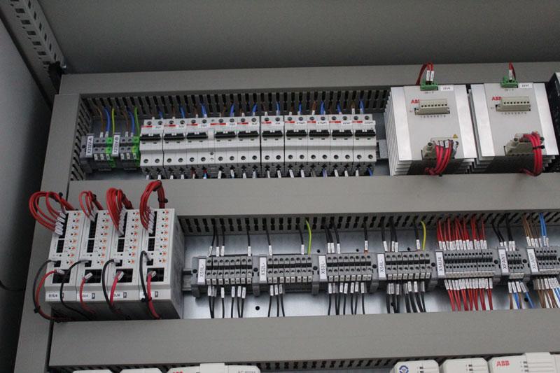 cuadros eléctricos para el proyecto Medgaz
