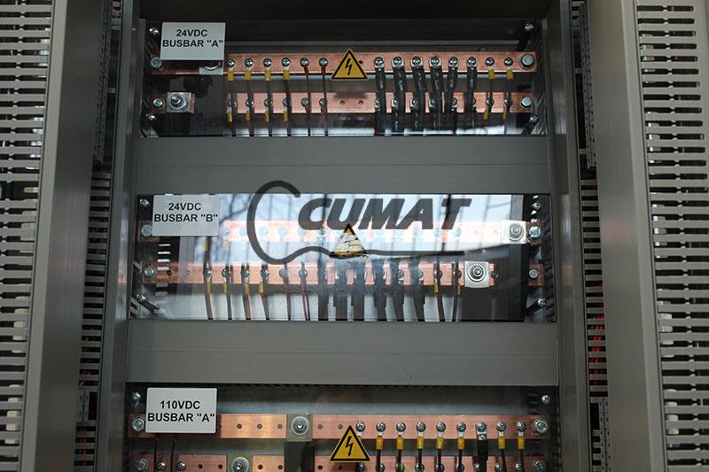 fabricación de cuadros eléctricos para MEDGAZ